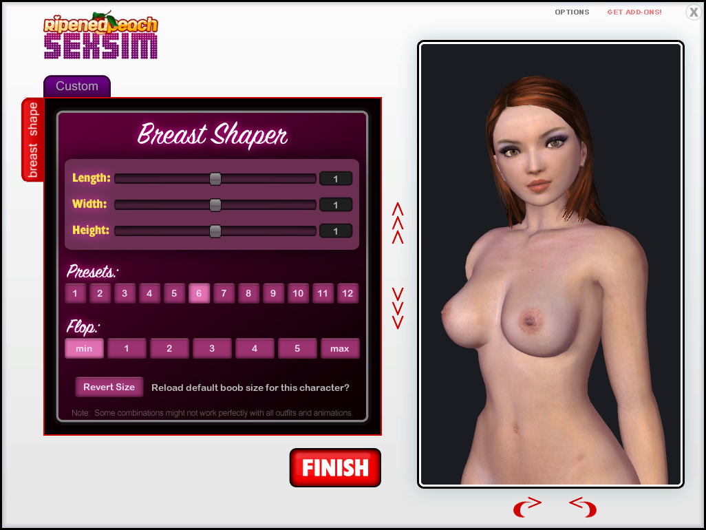 Get Custom Mods now in the Sex Sim Add-ons shop!