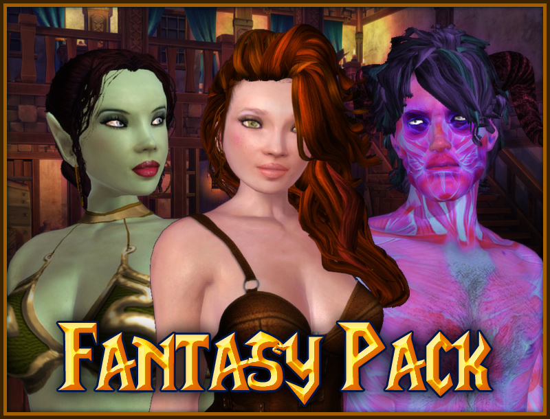 Fantasy Pack: Characters