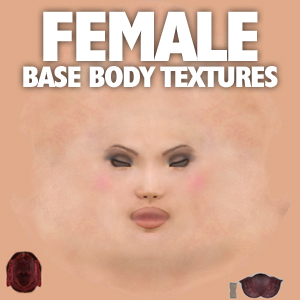 Base Character Textures (female)