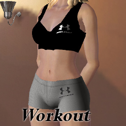 Workout 2 outfit + ankle socks